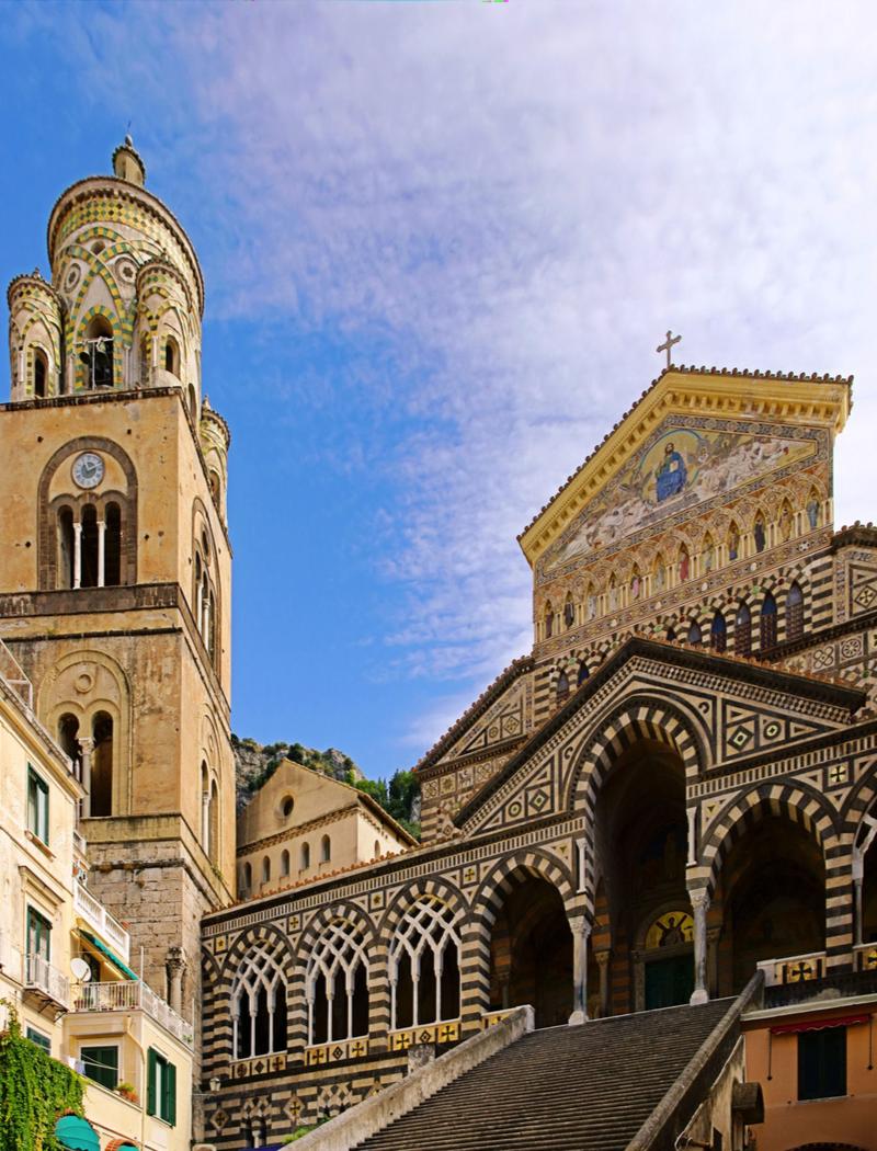 Wybrzeże Amalfi, Katedra w Amalfi, Włochy