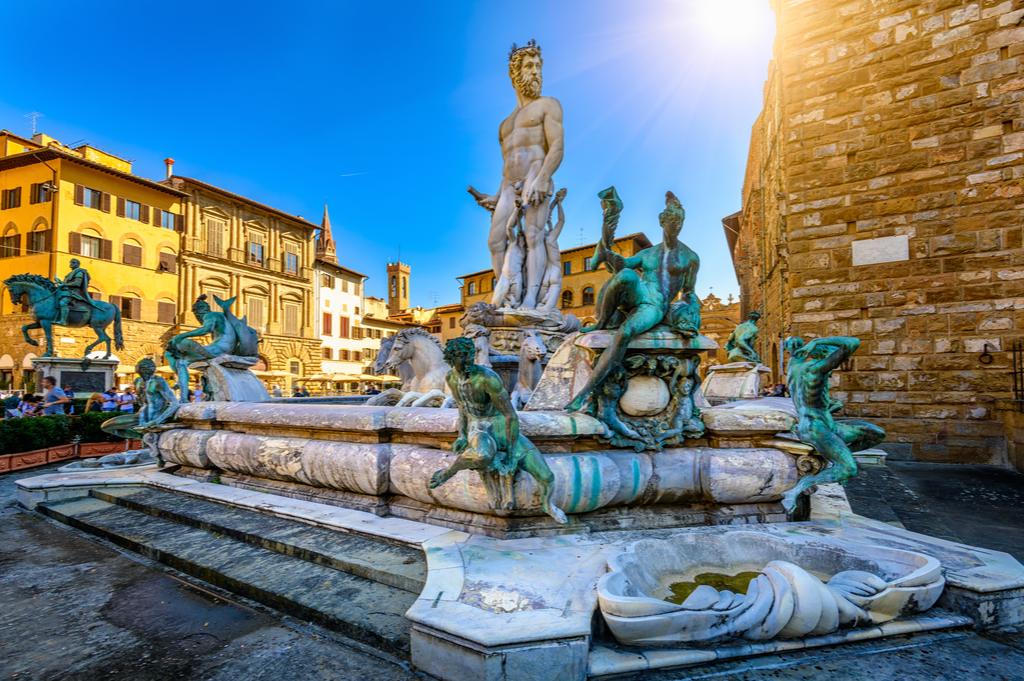 Piazza della Signoria, Florencja