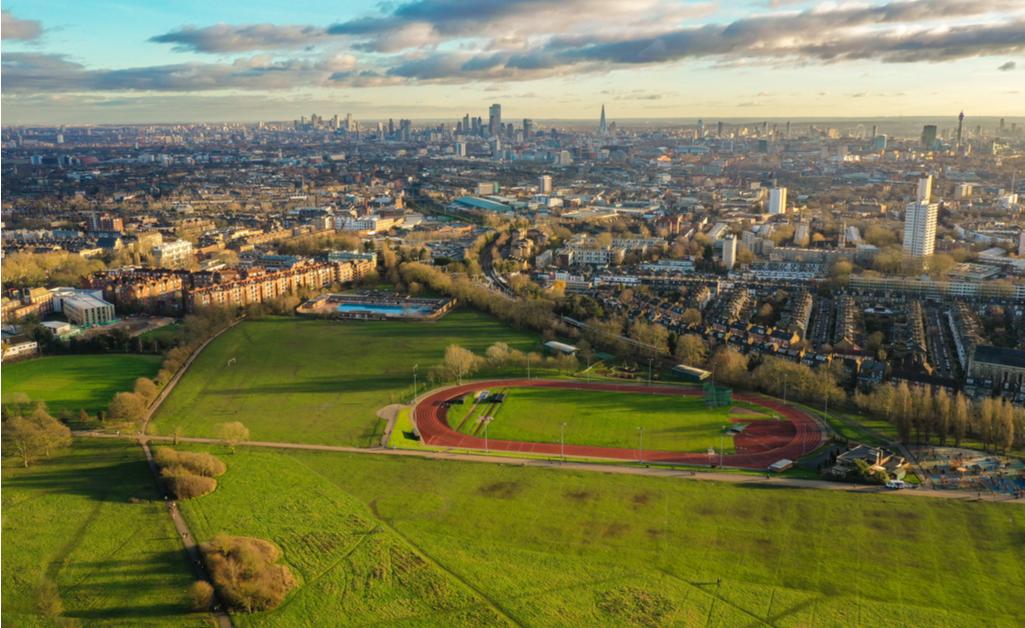 Hampstead Heath Park, Londyn, Wielka Brytania