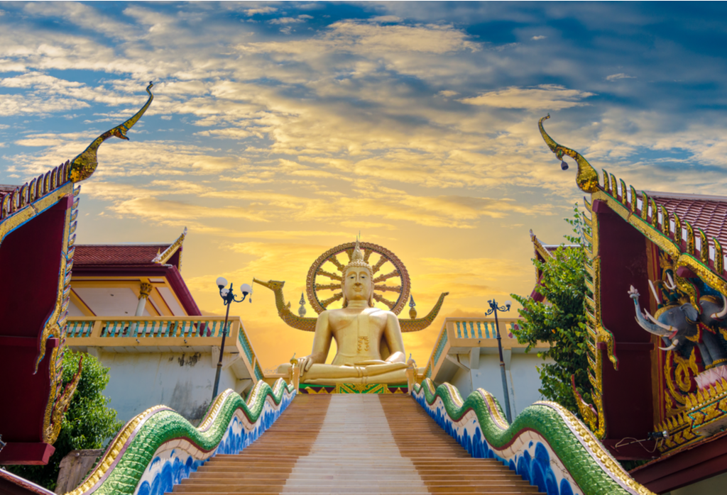 Koh Samui Wat Phra Yai