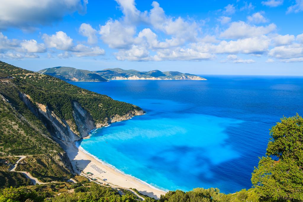Myrtos, Grecja,Kefalonia