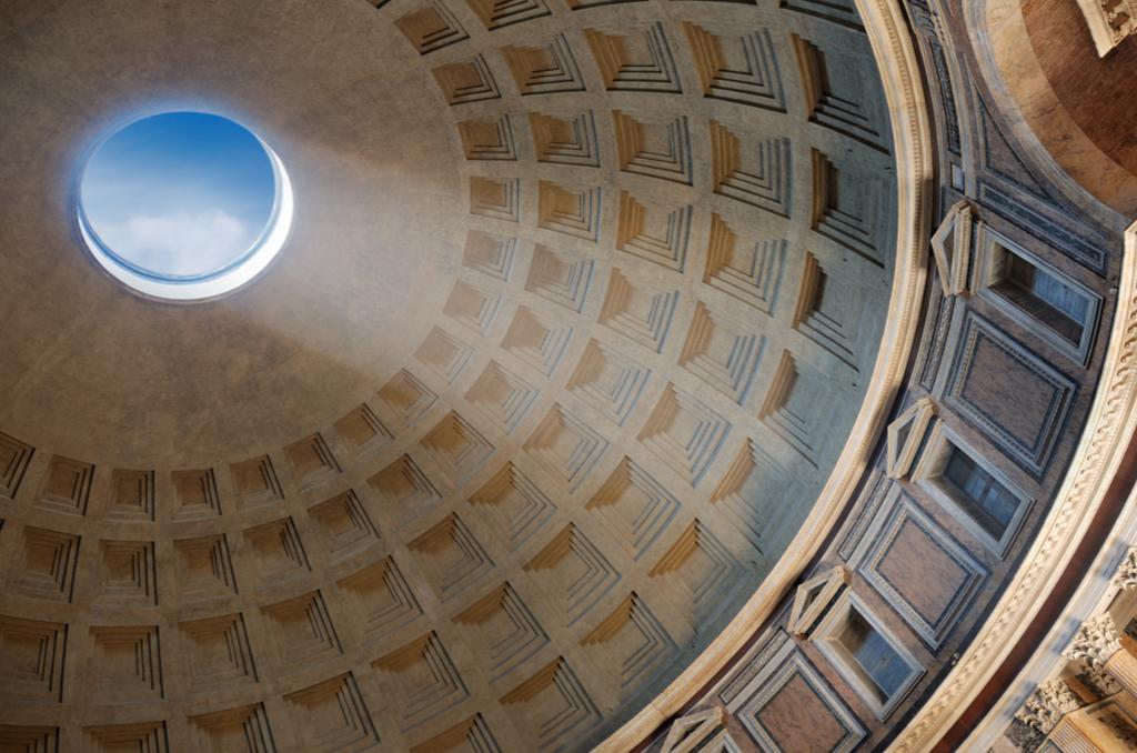 Panteon, Oculus, Rzym, Wlochy