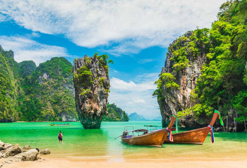Tajlandia, Phuket, Wyspa JamesaBonda