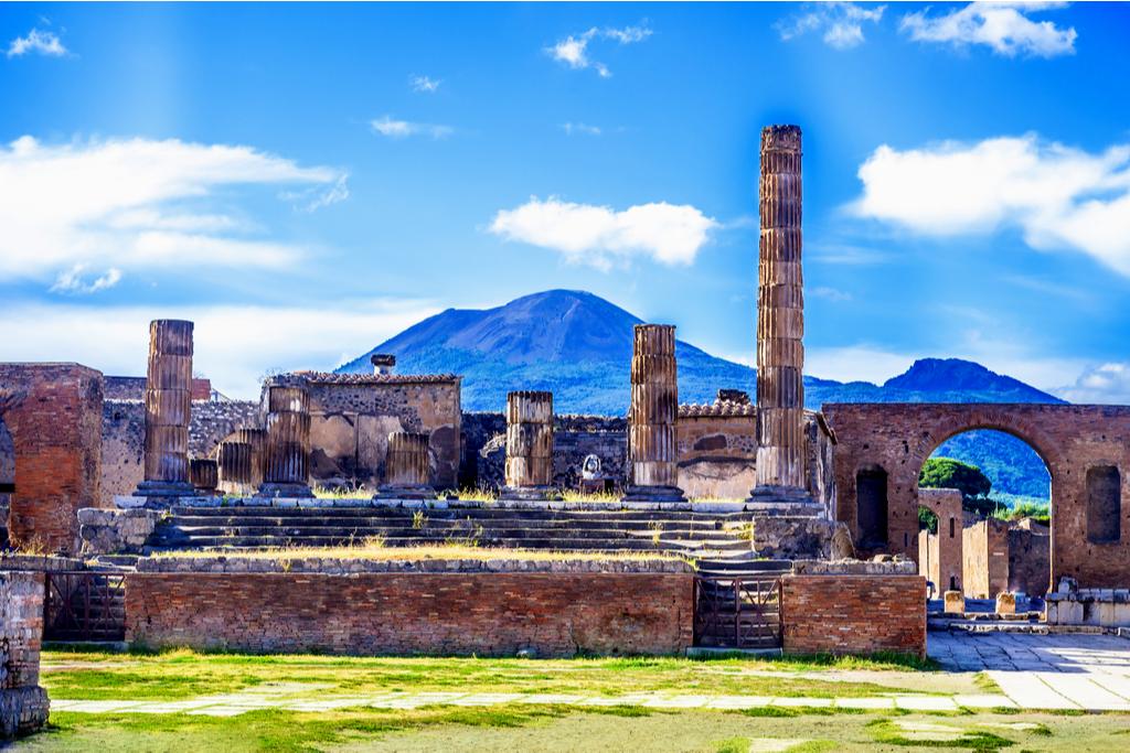 Wezuwiusz, Pompeje, Neapol, Włochy