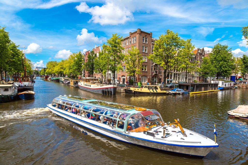 Amsterdam rej po kanałach